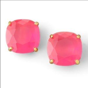 Kate Spade Pink Square Stud Earrings
